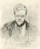 С.С. Боткин. Рисунок. 1898