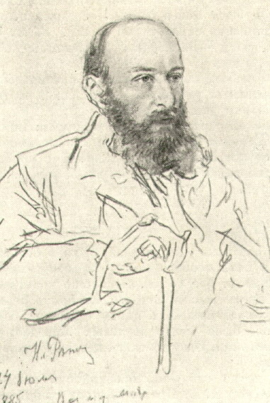 П.А. Спиро. Рисунок.1885