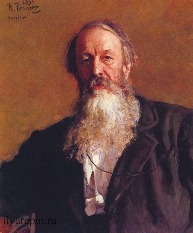 Портрет В.В. Стасова
