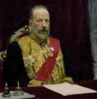 Портрет С.Ю.Витте, министра финансов. 1903