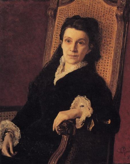 Портрет П.С. Стасовой. 1879