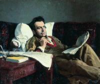 Михаил Иванович Глинка в период сочинения оперы (Руслан и Людмила). 1887