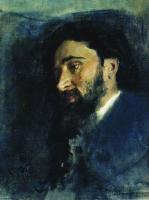 Портрет писателя В.М.Гаршина. 1883