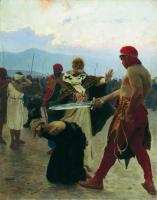 Николай Мирликийский избавляет от смертной казни трех невинно осужденных. 1890