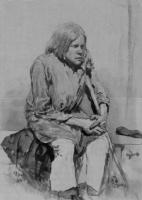 Горбун. Этюд. 1881