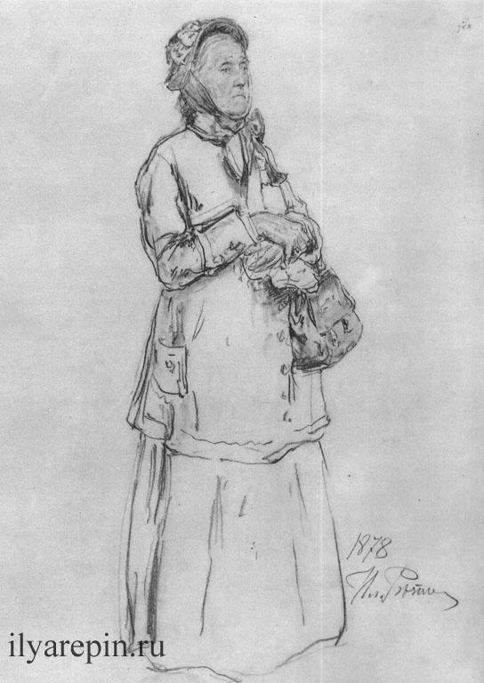 Благородная просительница. 1878