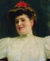 Женский портрет (Ольга Шоофс?). 1907