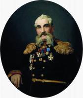 Портрет военного. 1866