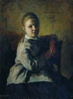 Портрет С.А.Репиной. 1878