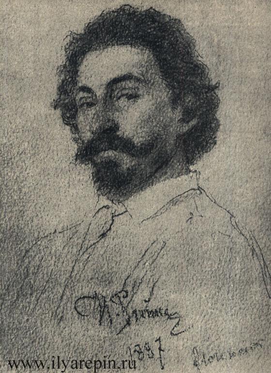 Автопортрет. Флоренция. 1887
