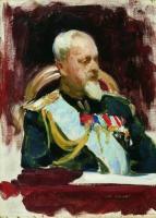 Этюд к картине Торжественное заседание Государственного совета 7 мая 1901 года.