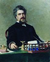 Портрет Ивана Евграфьевича Ададурова. 1884-1885