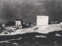 Окраина Парижа. Монмартр. 1874