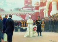 Речь Его императорского Величества волостным старшинам и представителям...