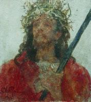 Иисус в терновом венце. 1913