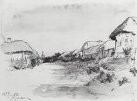 Деревня Мохначи. 1877