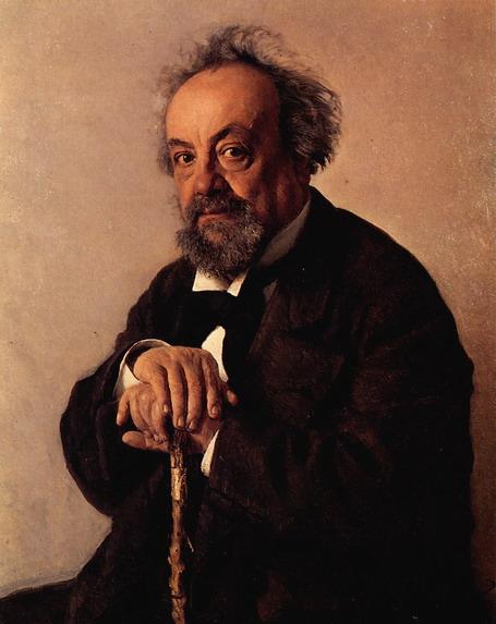 Портрет А.Ф. Писемского. 1880