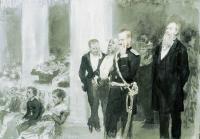 Во время концерта в дворянском собрании. 1888