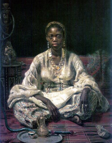 Негритянка. 1876