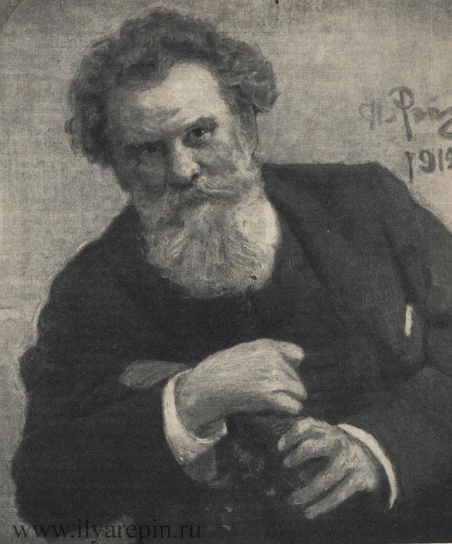 В. Г. Королепко, писатель. 1912 г. [ГТГ]