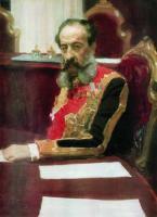 Портрет члена Государственного совета обер-гофмейстера князя Михаила Сергеевича Волконского. 1903