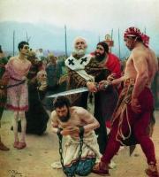 Николай Мирликийский избавляет от смерти трех невинно осужденных. 1888