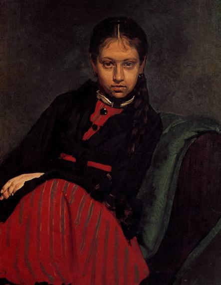 Портрет В.А. Шевцовой. 1869