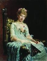 Женский портрет (Е.Д. Боткина?). 1881