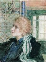 Портрет Марии Клопушиной. 1925