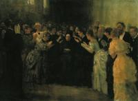 Овация Н.В.Стасовой. 1888
