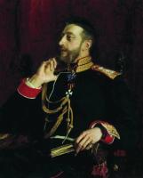 Портрет великого князя Константина Константиновича Романова. 1891