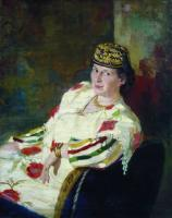 Портрет М.К.Олив. 1906