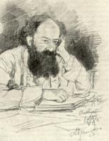 М.В. Прахов. Рисунок. 1878