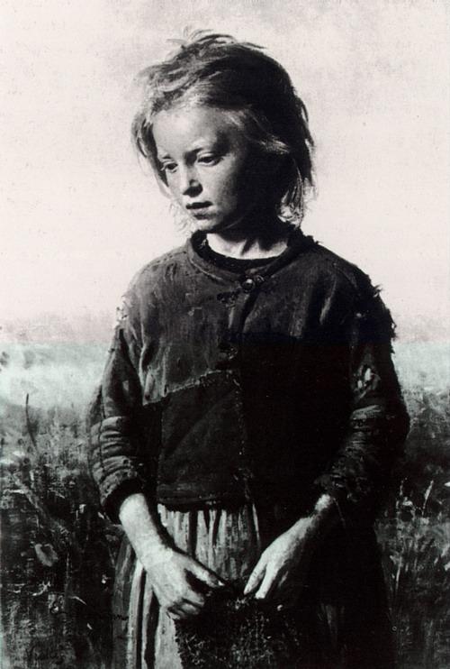 Девочка-рыбачка. Вёль. 1874