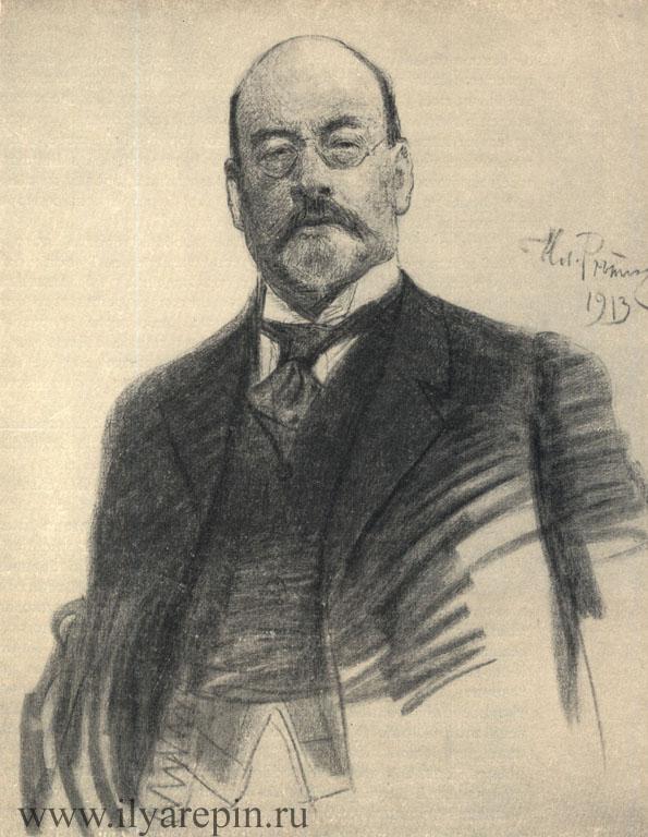 И. С. Остроухов, художник. Уголь. 1913. ГТГ