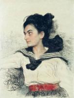 Портрет М.О.Левенфельд. 1913
