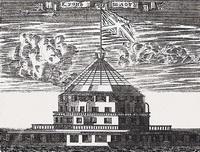 Кроншлот (П. Пикарт, гравюра, 1704 г.)