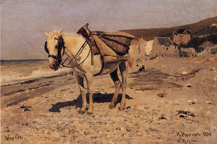 Лошадь. Вёль. 1874