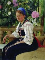 Портрет С.Ф.Мамонтовой. 1879