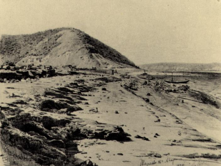 Ширяев Буерак на Волге. 1870
