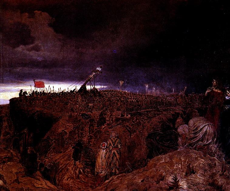 Голгофа (Распятие Христа). Эскиз. 1869