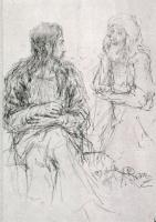 Христос и Никодим. 1887