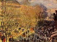 Бульвар Капуцинок в Париже (Клод Моне, 1873 г.)