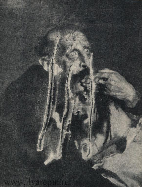 Ранение картины «Иван Грозный и сын его Иван».