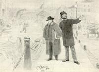Иллюстрация к рассказу В.М. Гаршина (Художники).Рисунок 1888