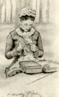 В.Н. Третьякова. Рисунок 1885