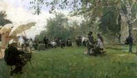 На академической даче. 1898