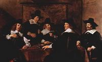 Попечители гарлемского дома для престарелых св. Елизаветы (Ф. Халс, 1641 г.)