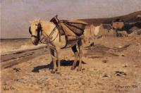 Лошадь. Вёль (лошадь для сбора камней в Вёле). 1874