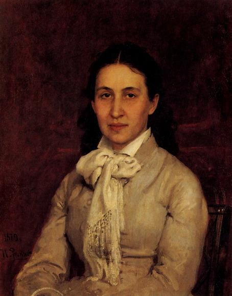 Портрет Е.Г. Мамонтовой. 1878-1879